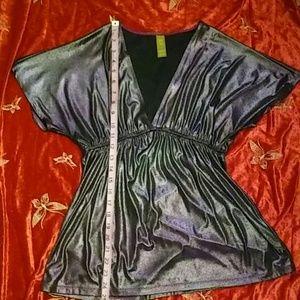 Purple copper key shirt size medium